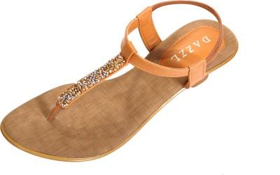 Dazzl Elle Women Tan Heels