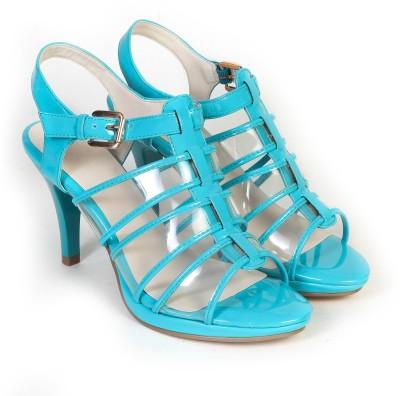 Bello Pede Women Blue Heels