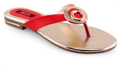 Shuz Touch Women Red Flats