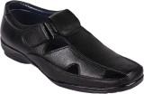 Affican Men Black Sandals