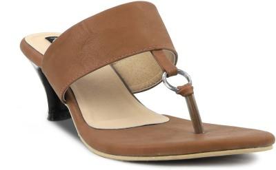 Kz Classics Women Brown Heels
