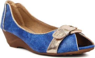 Kz Classics Women Blue Wedges