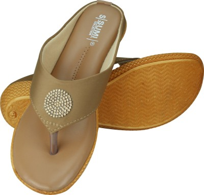 SUMI Collections Women Beige Wedges