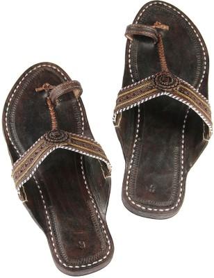 Ekolhapuri Women Brown Flats