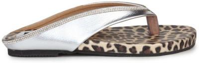 Sindhi Footwear Women Silver Flats