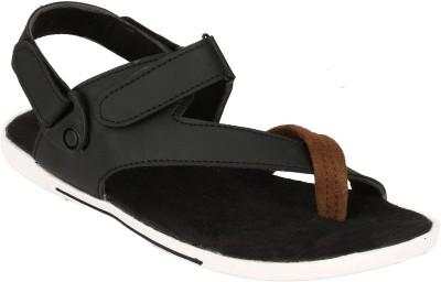 Fucasso Men Black Sandals
