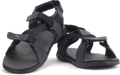 Puma Royal DP Men Black, Blue Sandals