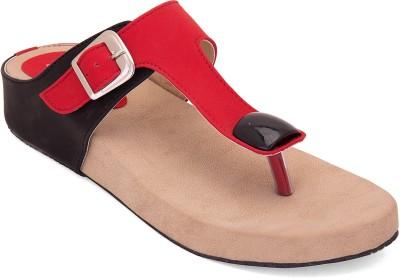 Solester Women Red Flats