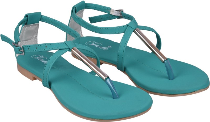 Jade Women Green Flats