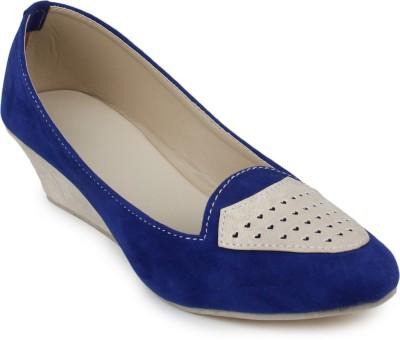 Addo Women Blue Wedges