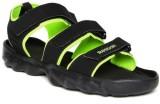 Reebok Men BLACK/GREEN Sports Sandals