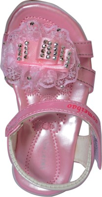 Smart Kid Baby Girls Pink Flats
