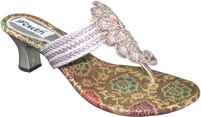 Faith 10006005 Women Silver Heels
