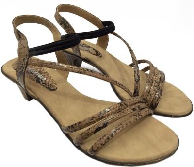 KNEETOES Girls, Women Beige Heels