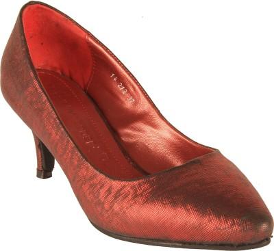Salt N Pepper 14-212 Jessica Red Women Red Heels
