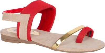 MDR Women Red Flats