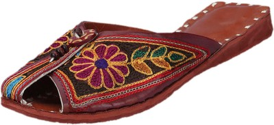 Ethnic Collection Women Multicolor Flats