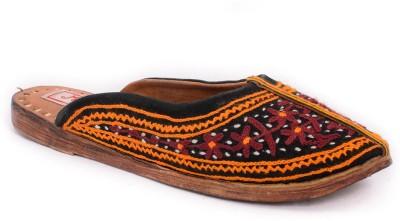 Mojari Women Black Flats