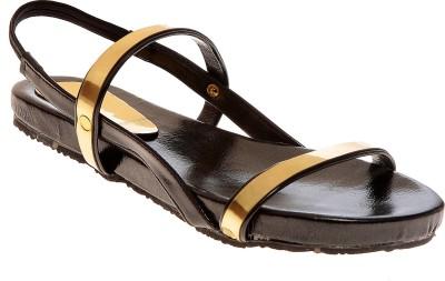 Elan Women Black Flats