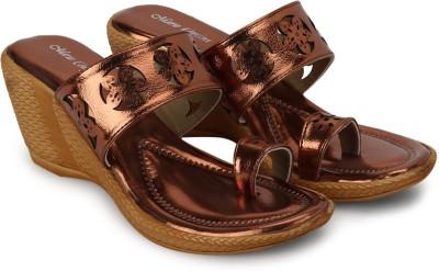 Marie Comfort Women Brown Heels