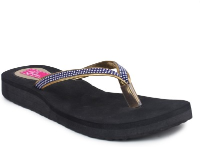 Geetika Women Black Flats