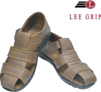 Lee Grip Men Brown Sandals