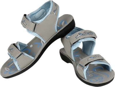 Super Matteress Grey-844 Women Grey, Blue Sports Sandals