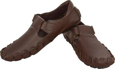 HD Shoes Men Brown Sandals