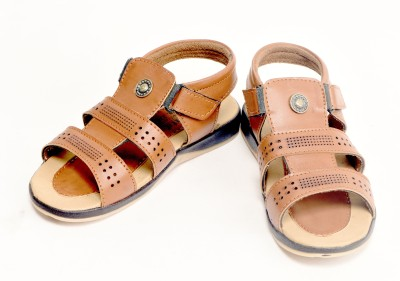 Ajanta Boys Tan Sandals