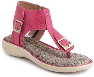 JIPSI Women Pink Flats