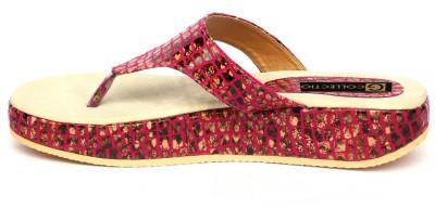 Gcollection Women Purple Flats