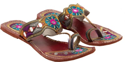 Royal Collection Embellished Mirrors Women Multicolor Flats