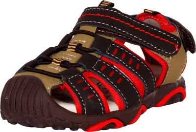 Ole Baby Boys Red Sandals