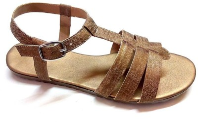 fabfoot Women, Girls Camel Flats