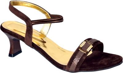 Stepee Women Brown Heels