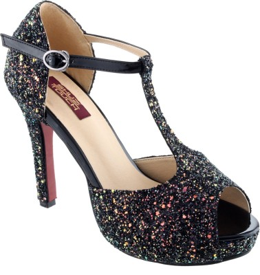 Shuz Touch Women BLACK Heels