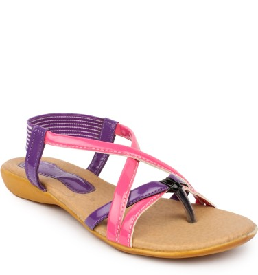 11e Women Pink, Purple Flats