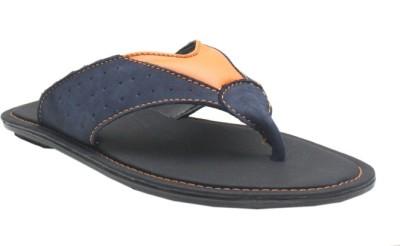 Jack Don Men Blue, Orange Sandals