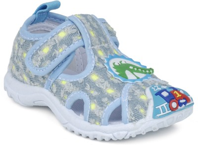 Action B0751-062 Baby Girls, Baby Boys Blue Sandals