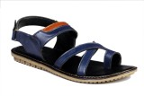 Leather Mart Men Navy Sandals