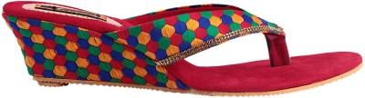 Kala Sanskriti Women Multicolor Wedges