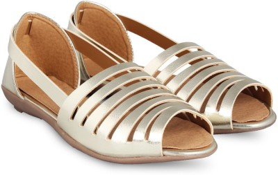 Anand Archies Women Gold Flats