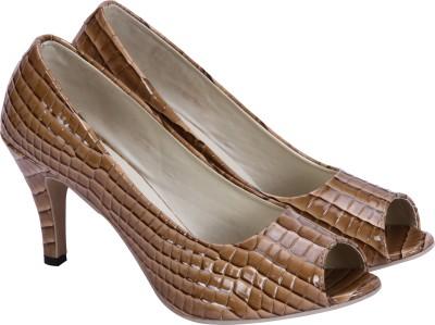 Soft & Sleek Girls Brown Sandals