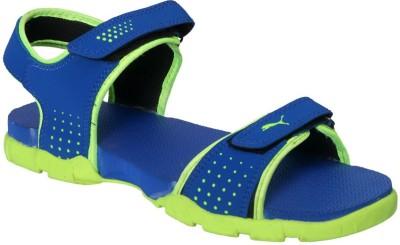 Lvi Men Blue, Green Sandals