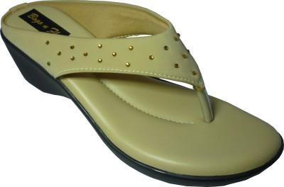 Bogo N fly Girls Beige Flats