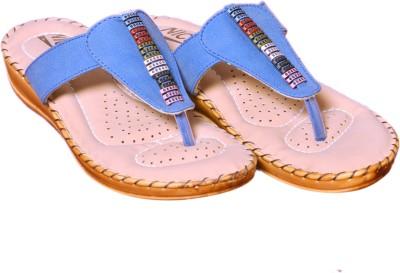 Nice Women Blue Flats
