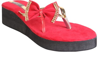 Azores Women Red Wedges