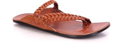 Lee Fox Men Tan Sandals
