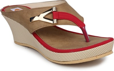 Digni Women Red Wedges