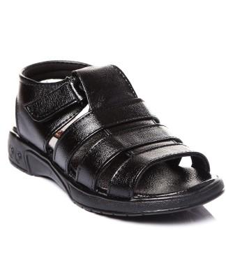 Trilokani Boys Black Sandals